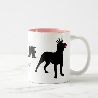 Don't Palinize Me (pitbull) Mug