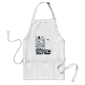 dont panic adult apron