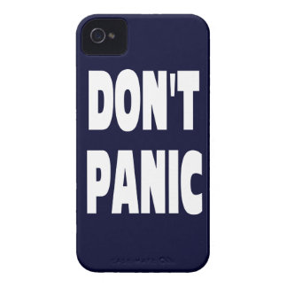Don't Panic iPhone 4 Case-Mate Cases
