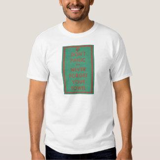 Don't Panic Funny Design T-Shirt