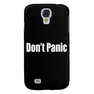 Don't Panic Galaxy S4 Cover