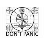 Don't Panic (Indian Head Test) Postcard