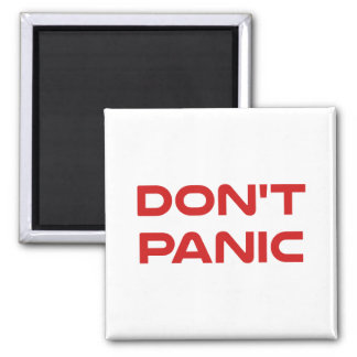 Don't Panic Refrigerator Magnets