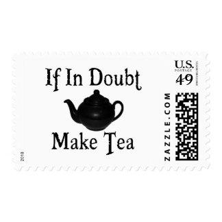 Don't panic - make tea! postage