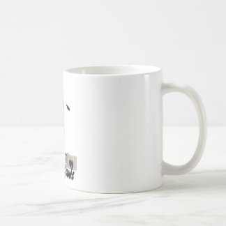 dont panic classic white coffee mug