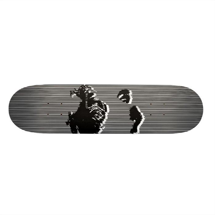 don't panic, nietzsche skateboard