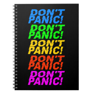 Don't Panic! notebook