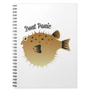 Dont Panic Note Books