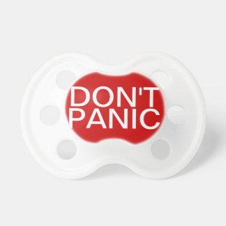 Don't Panic Pacifier BooginHead Pacifier