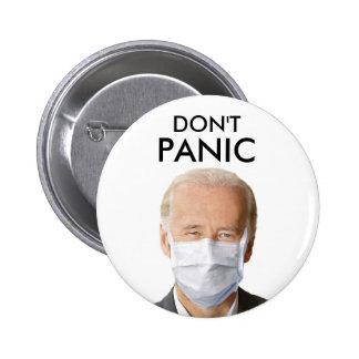 DON'T PANIC PINBACK BUTTON