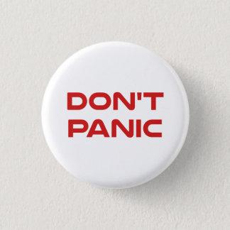 Don't Panic Pinback Button