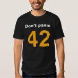 Don't panic playeras