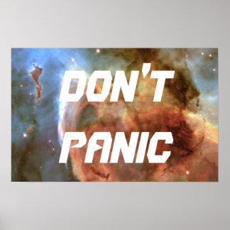 DON'T PANIC PRINT