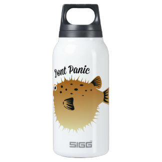 Dont Panic 10 Oz Insulated SIGG Thermos Water Bottle