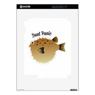 Dont Panic iPad 2 Decals