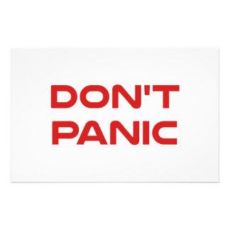 Don't Panic Stationery