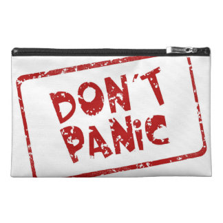 Don't Panic Travel Accessory Bags