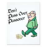 Don't Pass Over Passover 4.25x5.5 Paper Invitation Card