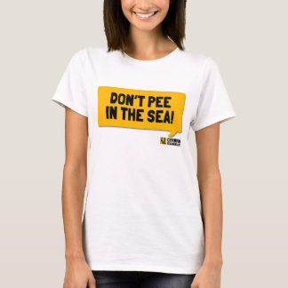 Don't Pee in the Sea: A Cornish Soundboard Shirt