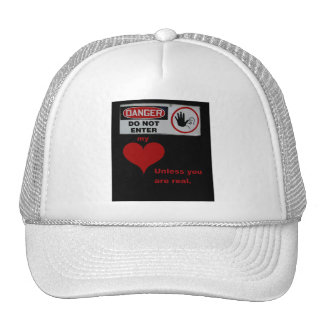 Don't Play With My Heart Trucker Hat