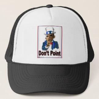 Don't Point Trucker Hat