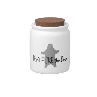 Don't Poke the BEAR Candy Jars