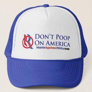 Don't Poop On America!  Remember Seamus Trucker Hat