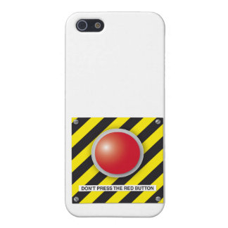 don't press the red button cover for iPhone 5