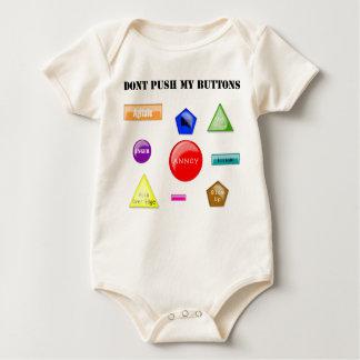 Dont Push Buttons Baby Bodysuit