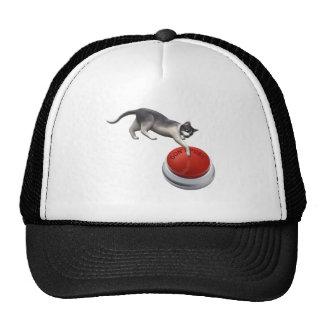 Don't Push Kitty Mesh Hat