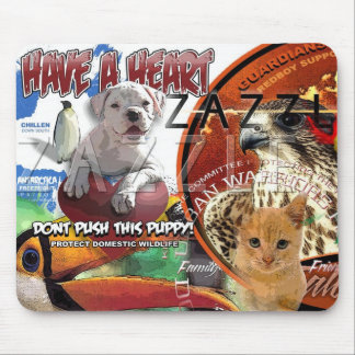 DONT PUSH THIS PUPPY MOUSE MATS