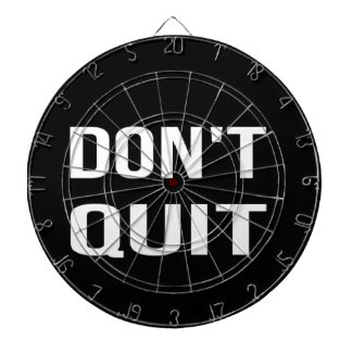 DON'T QUIT - DO IT Motivational Quotation Quote Dart Board