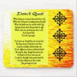 """Don&#39;t Quit Mouse Pad<br><div class=""""desc"""">Don&#39;t Quit Inspirational poem</div>"""