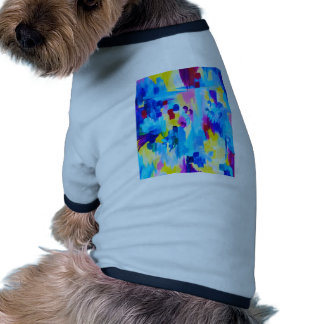 DONT QUOTE ME, Revisited - Bold Colorful Blue Pink Dog T-shirt