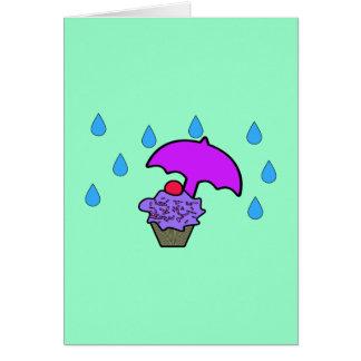 Don't Rain On My Cupcake Cards