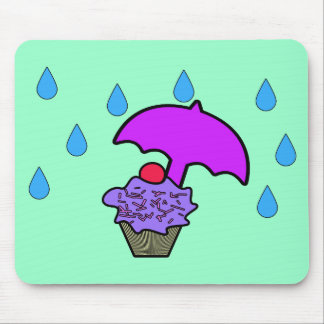 Don't Rain On My Cupcake Mouse Pad