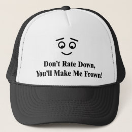 Don't Rate Down Hat