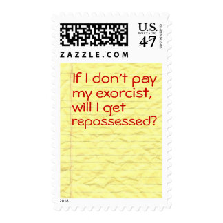 Don't Repo My Soul Postage