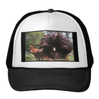 Don't Ruffle My Feathers! Hats