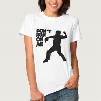Don't Run, black T-Shirt