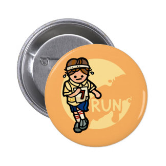 don't run with pins. button