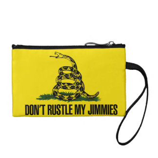 Dont rustle my jimmies change purse