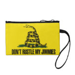 Dont rustle my jimmies coin wallet