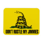 Dont rustle my jimmies flexible magnets
