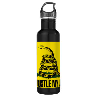 Dont rustle my jimmies water bottle