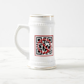 Don't scan me. beer stein