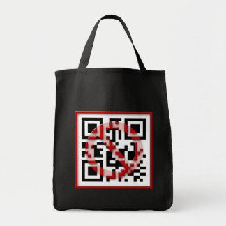 Don't scan me. canvas bags