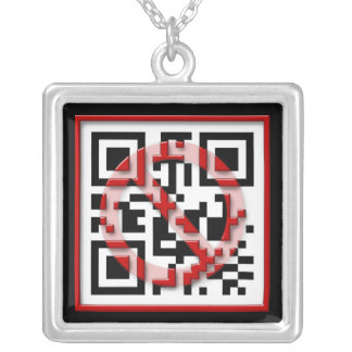 Don't scan me. custom jewelry