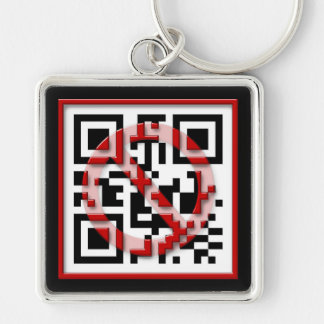 Don't scan me. keychain