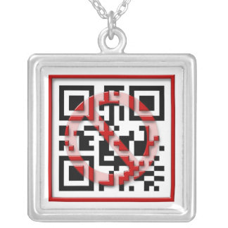 Don't scan me. pendant